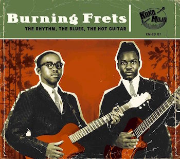 V.A. - Burning Frets ( cd)